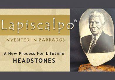 Lapiscalpo Invented In Barbados For Headstones