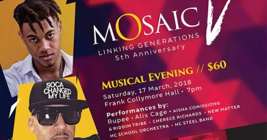 5th Anniversary of Mosaic – on March 17 & 18