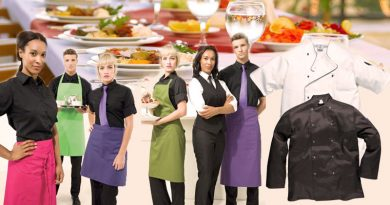 Professional and Stylishly Embroidered Catering Wear Can Bring Business Benefits