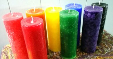 Fragranced Pillar Candles
