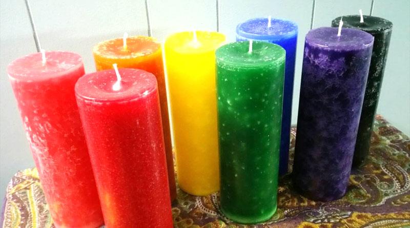 Fragranced Pillar Candles