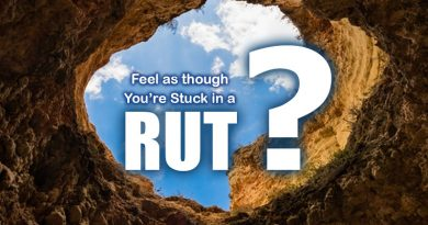 Seven Keys To Get Out Of A Rut