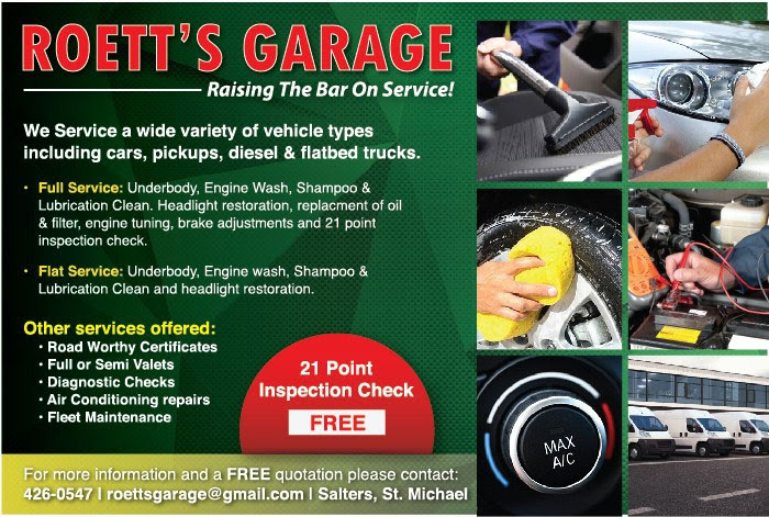 Roett's Garage Barbados