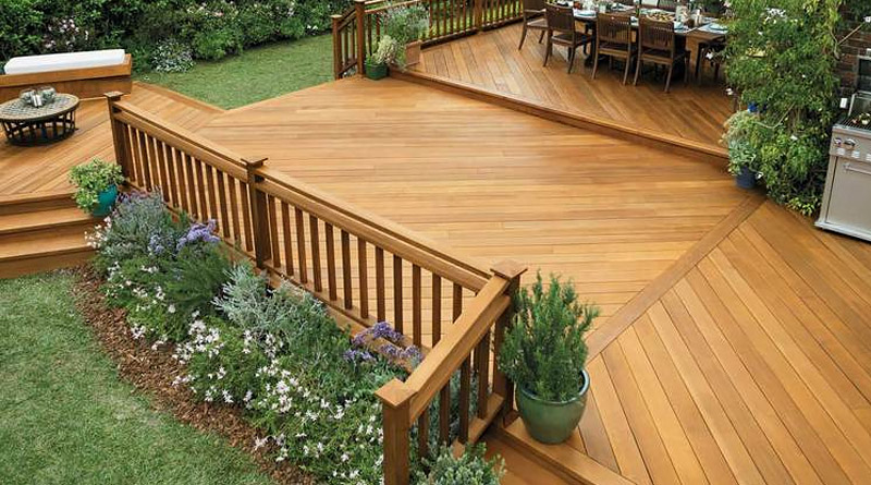 Building An Outside Deck In Barbados